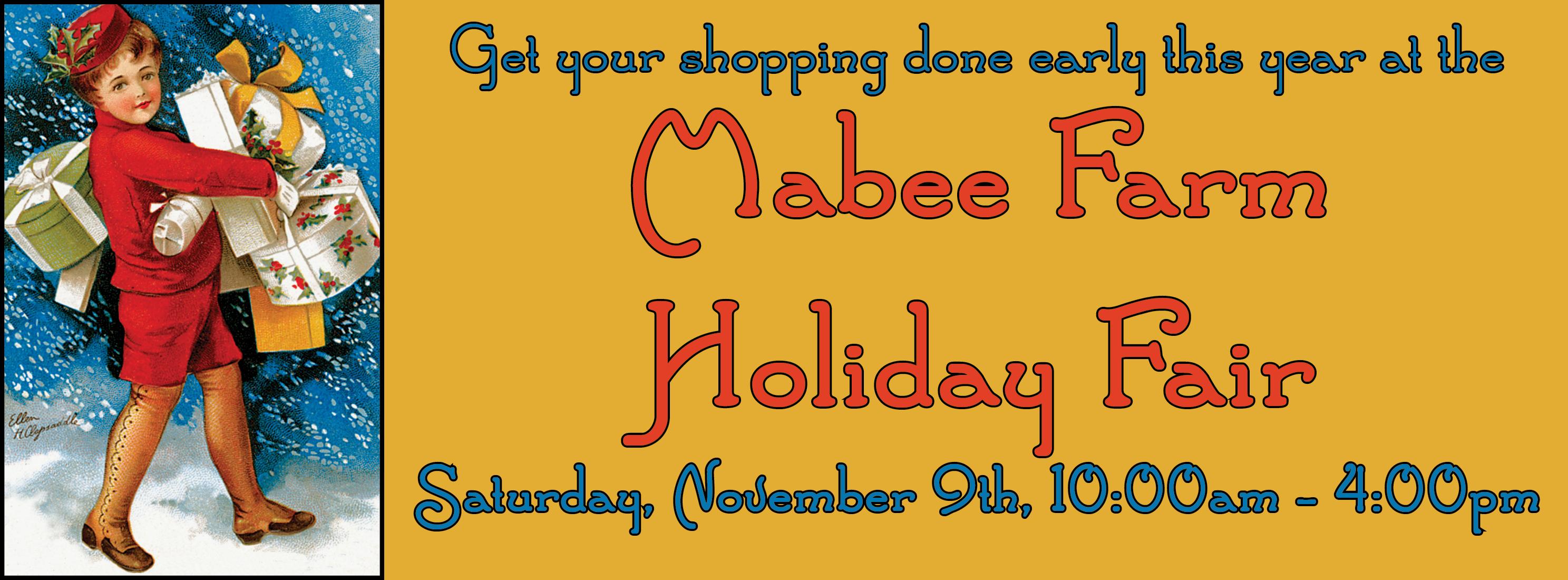 Mabee Farm Arts Craft Festival