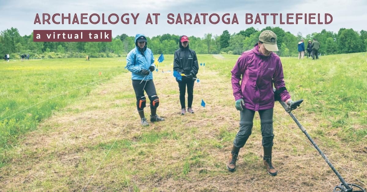 Saratoga Battlefield Archaeology