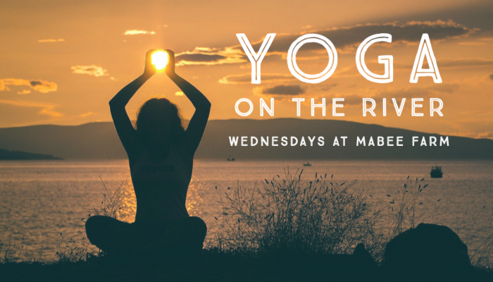 Yoga on the River Mabee Farm